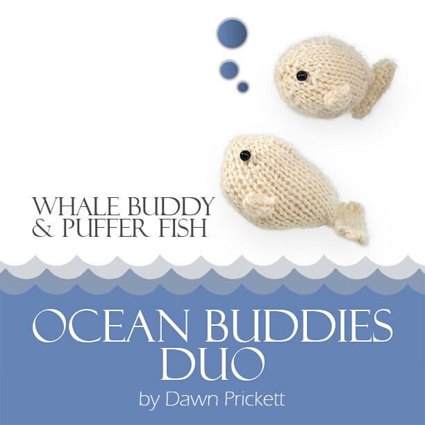 Whale Buddy & Puffer Fish D
